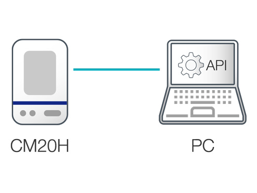 Application Program Interface (API) to Freely Control the Acquisition Parameters (β ver.)
