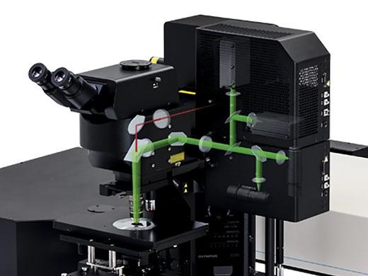 冷却高感度GaAsP外部検出器で高S/Nの画像を取得