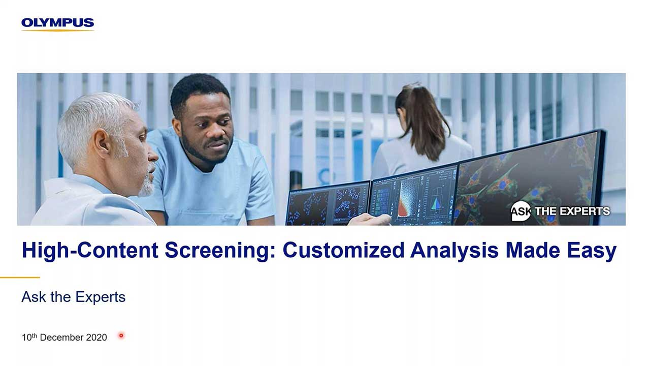 High-Content Screening: Customized Analysis Made Easy
