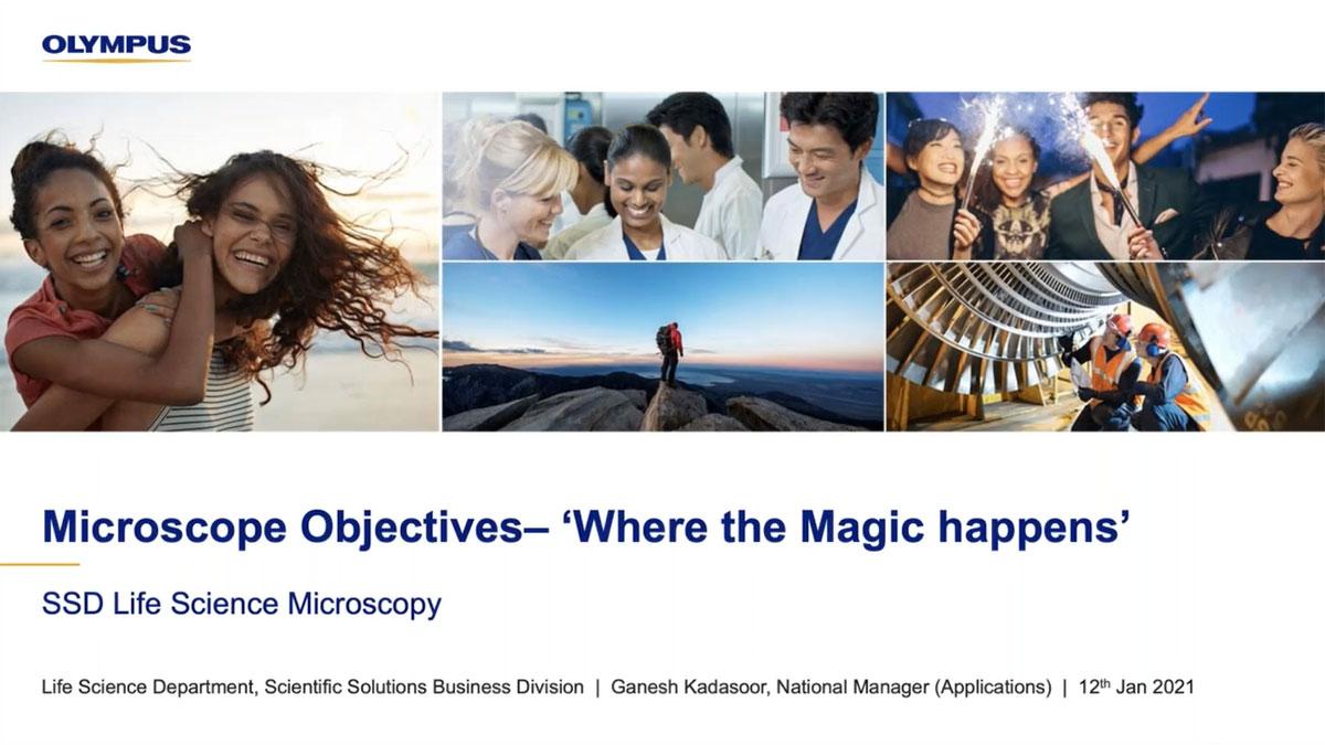 Microscope Objectives – Where the Magic Happens