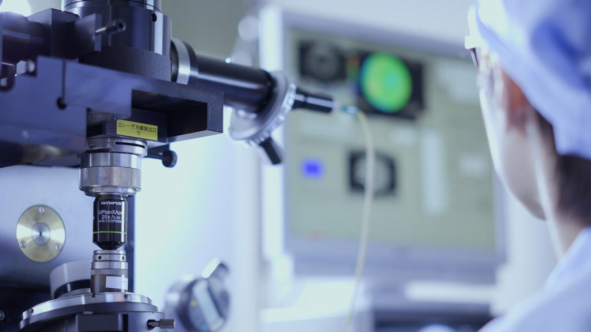 Contrôle de l'aberration du front d'onde dans des objectifs de microscope