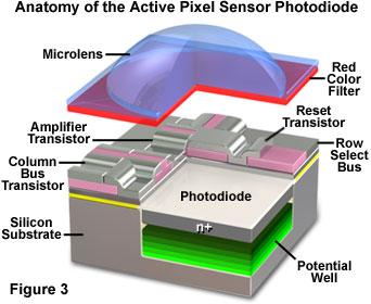 CMOSイメージセンサーの画像結果